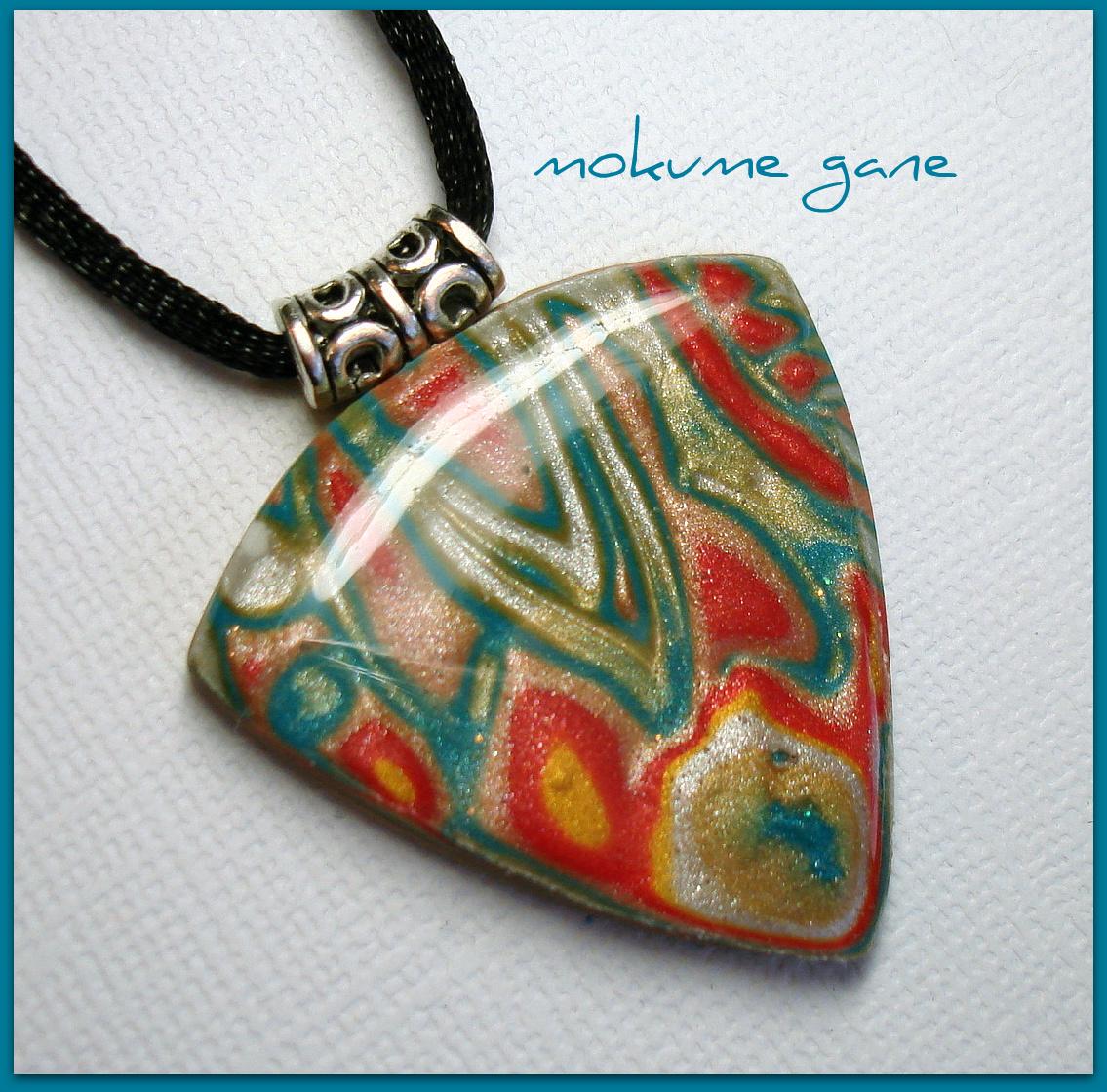 Mokume Gane Earrings: Beadazzle Me Polymer Jewelry Blog